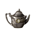 Silver English Teapot Stanhope Charm