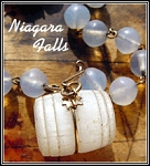 Niagara Falls Souvenir Barrel Necklace