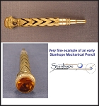 Ornamented Early Mechanical Stanhope Pencil