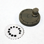 24mm Scalloped Circle MK-VR Microdot Camera Film Disc Punch