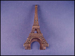 Large Eiffel Tower Souvenir of Paris Stanhope Views