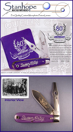 Queen Founding Fathers 80th Anniversary Jack Knife