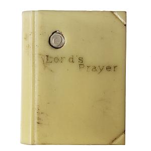 Stanhope Book Lords Prayer Trinket