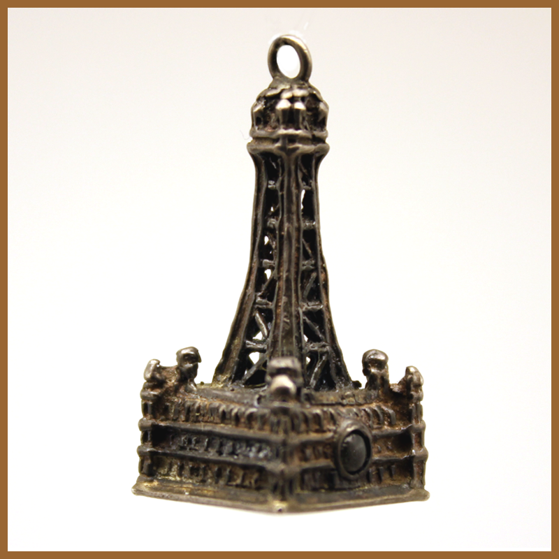 Blackpool Tower Stanhope Pendant Charm