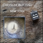 Sterling Silver Television Charm with NY Stanhope Lens