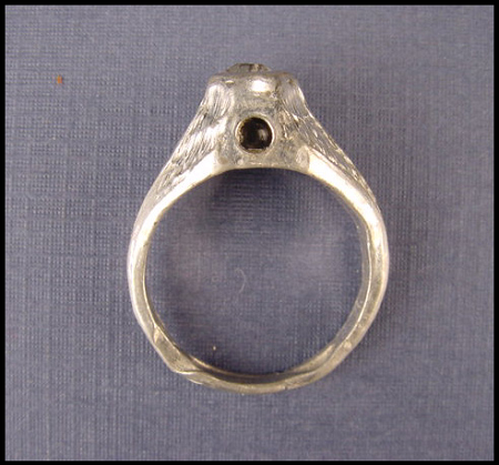 Man's Ring with Peep of Nude Stanhope