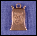 Commemorative Flour Sack Christmas Bell Ornament Stanhope Charm
