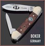 Limited Edition Boker Germany 2002 Lewis & Clark Canoe Stanhope Pocketknife