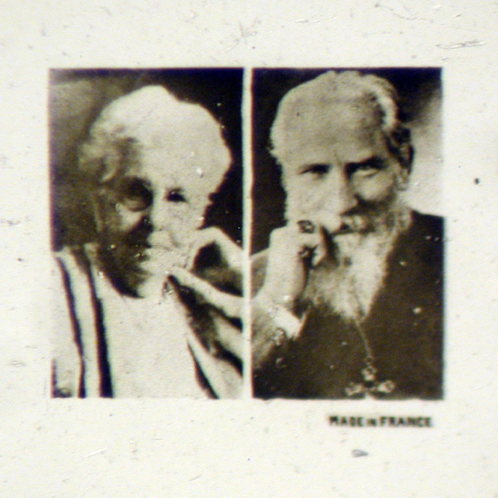 Unknown Portraits of a Man and Woman