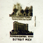 Detroit, MI with 2 Views