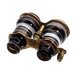 ANT-150218-04 Stanhope Banded Agate Binocular Charm
