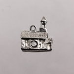 Sterling Silver Lords Prayer Stanhope Church Charm Pendant