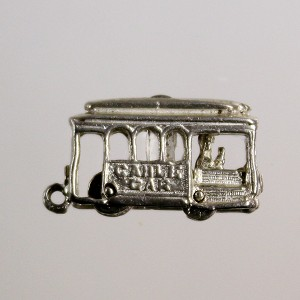 Stanhope Cable Car Charm