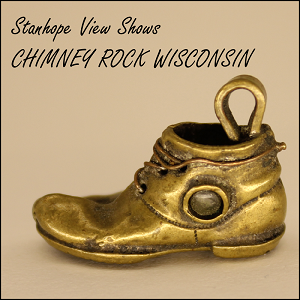 Stanhope Souvenir Boot Chimney Rock Wisconsin