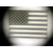 "A Peep at the US Flag inside the stanhope lens ""Old Glory"""
