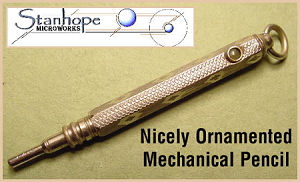 Ornamented Stanhope Mechanical Pencil