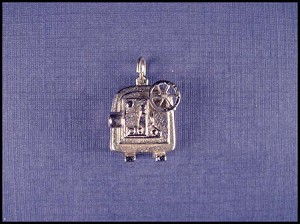 Silver Screen Film Projector Stanhope Charm