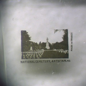 National Cemetery at Antietam Microphoto