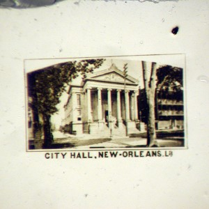 Microphoto View of New Orleans City Hall