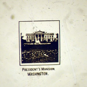 Microscopic View of President's Mansion in Washinton DC