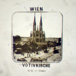 Microphoto detail of the Votivkirche in Vienna Austria