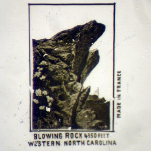 Microscopic View Showing Blowing Rock NC