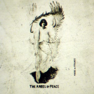 Microphoto Showing The Angel Of Peace