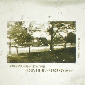 Microphoto Showing Pennsylvania Station, MI