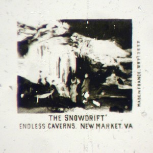 Microphoto Showing The Snowdrift in Endless Cavern, VA