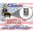 Detail of Hillary Clinton 2016 Political Pig